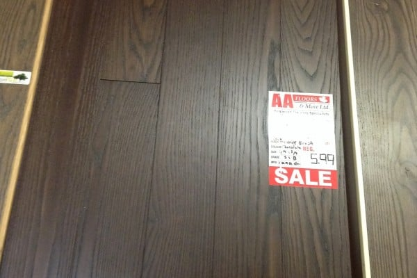 Hardwood canada ash 4 1 4 x 3 4 chocolate wire brushed for Hardwood floors 600 sq ft