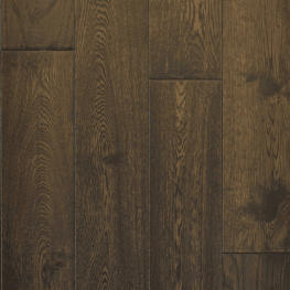Hardwood Canada Hanscraped & Distressed White Oak Black Brown