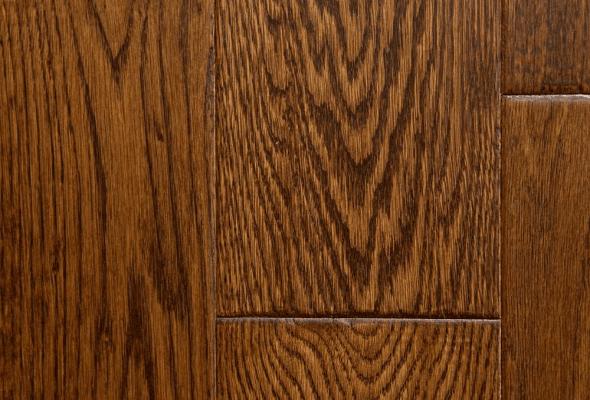 Hardwood Canada Hanscraped & Distressed White Oak Hazelnut