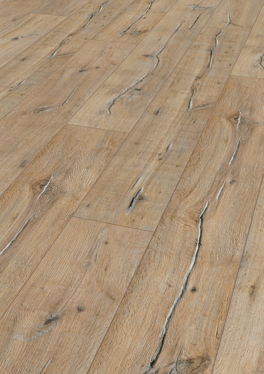 Kronotex mammut tower oak sand 104 sq ft aa floors for Square laminate floor tiles