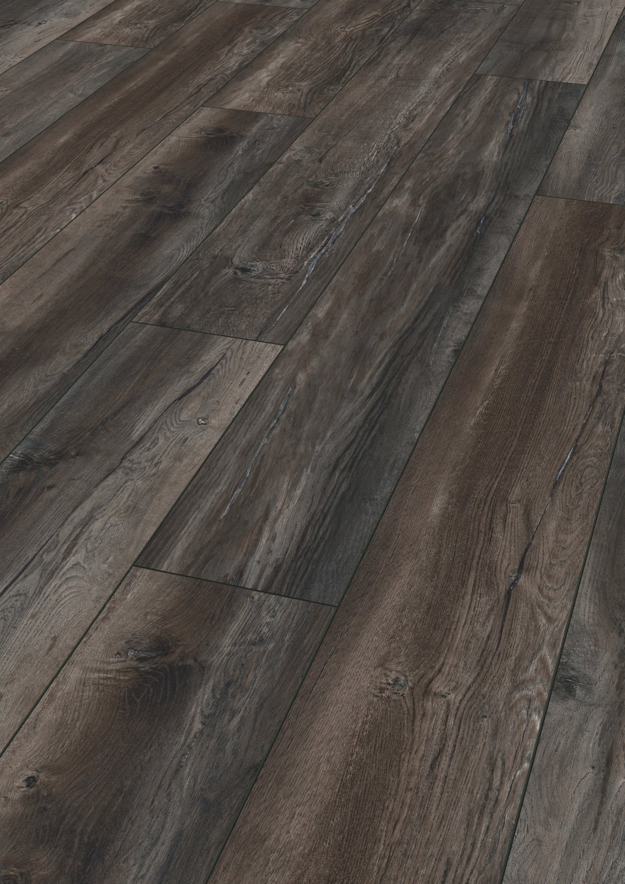 Kronotex robusto harbour oak dark aa floors toronto for Kronotex oak laminate flooring