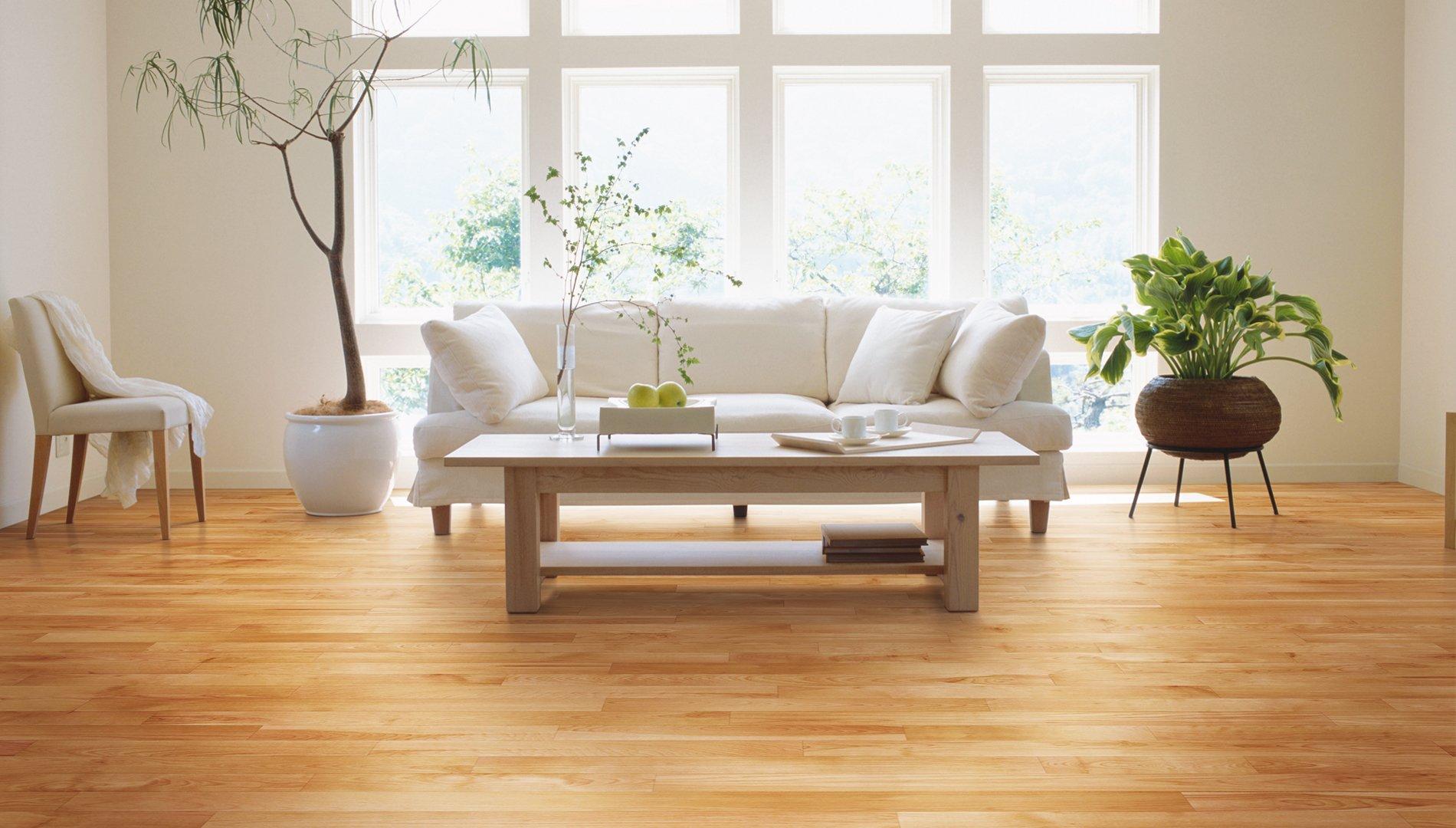 living room yellow birch hardwood flooring natural red natural