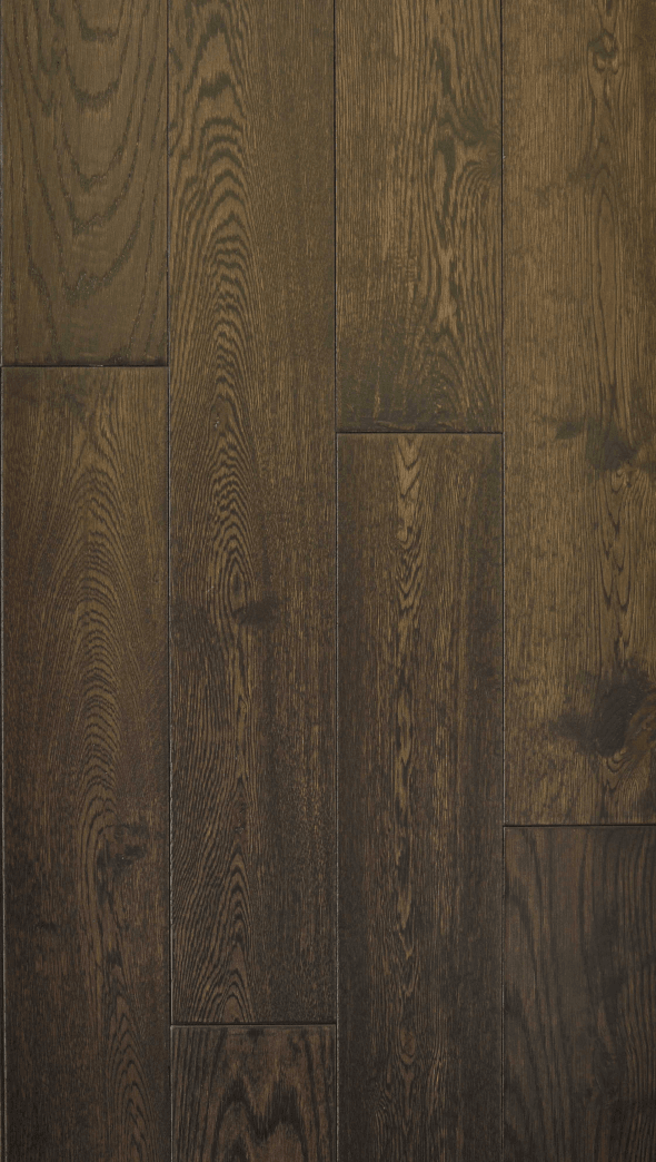 Hardwood Canada Hanscraped Amp Distressed White Oak Black