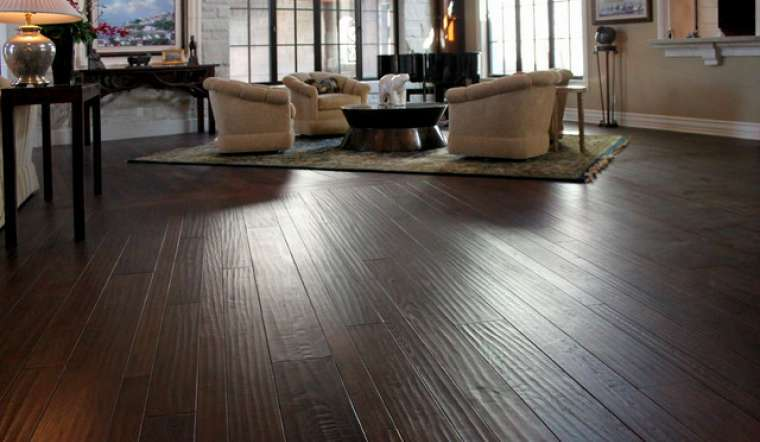 Handscraped Hardwood Flooring