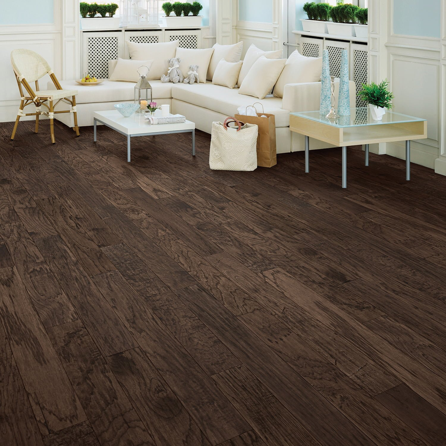 Kraus Flooring Halton Hickory Collection Heather Hickory
