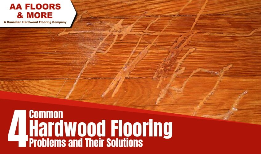 4 Common Hardwood Flooring Problems And Their Solutions Aa Floors