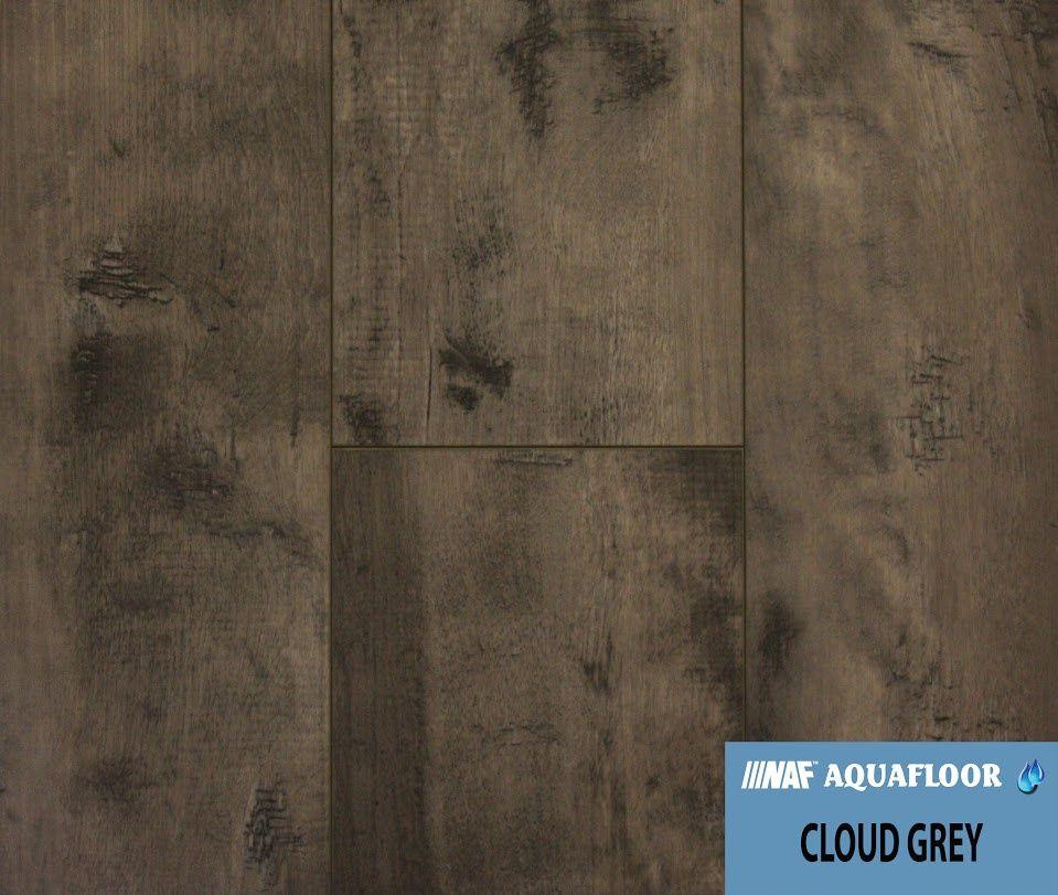 Naf Aquafloor Vinyl Plank Flooring Cloud Grey Aa Floors Toronto