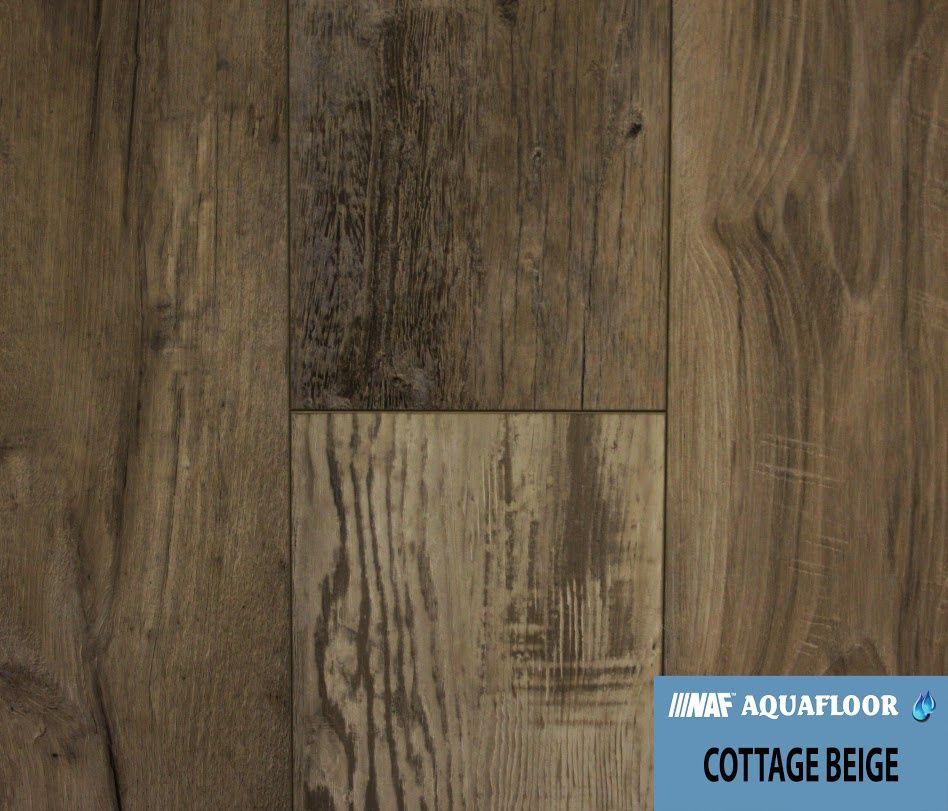 Naf Aquafloor Vinyl Plank Flooring Cottage Beige Aa Floors Toronto