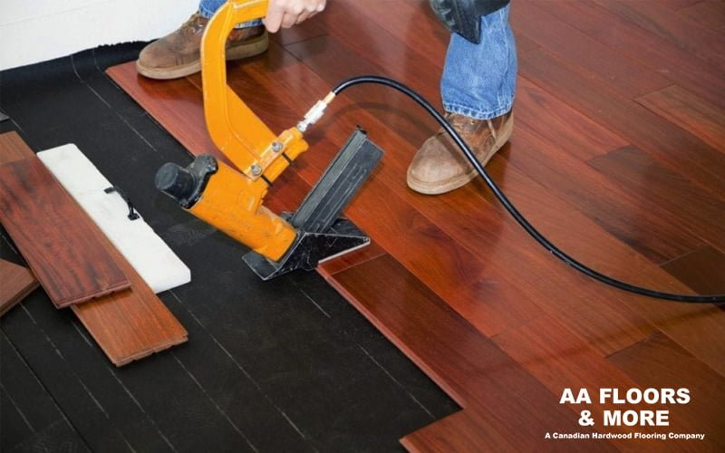 Nail-down Flooring Installation