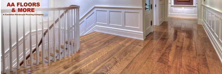 Flamed or curly Birch Hardwood Flooring