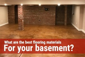 What Are The Best Flooring Materials For Your Basement