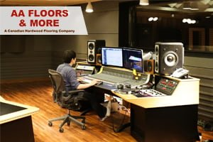 How To Determine the Best Flooring for a Home Studio